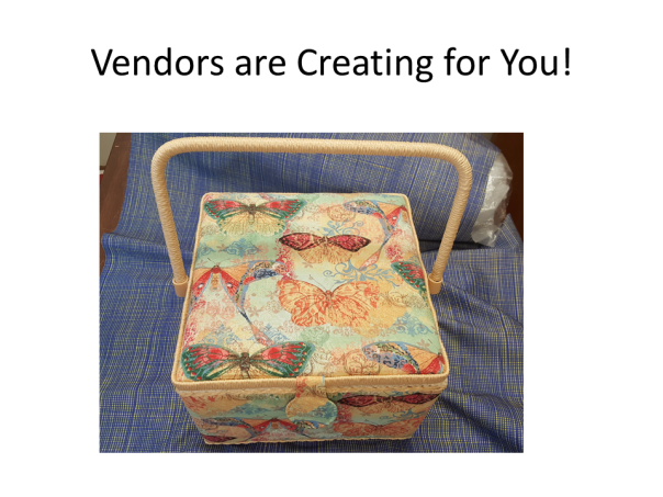 vendorsCreating