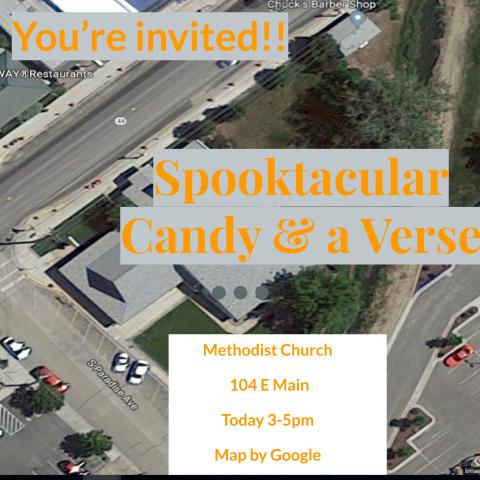 Spoooktacular Invite